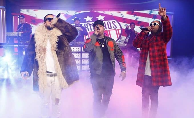 Watch The Americanos, Ty Dolla Sign, French Montana & Nicky Jam Performs In My Foreign on Jimmy Kimmel Live