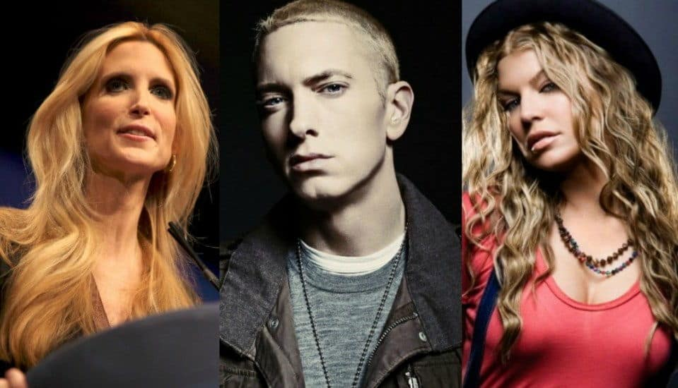 Ann Coulter And Fergie Respond To Eminem S Diss On Quot No Favors Quot