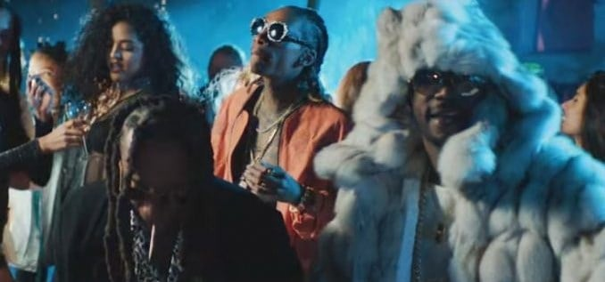 New Video Juicy J (Ft. Wiz Khalifa & Ty Dolla Sign) - Ain't Nothing