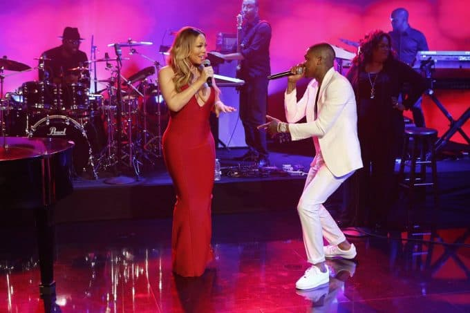 Watch Mariah Carey & YG Performs I Don't on Jimmy Kimmel Live