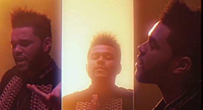 New Video The Weeknd (Ft. Daft Punk) - I feel It Coming