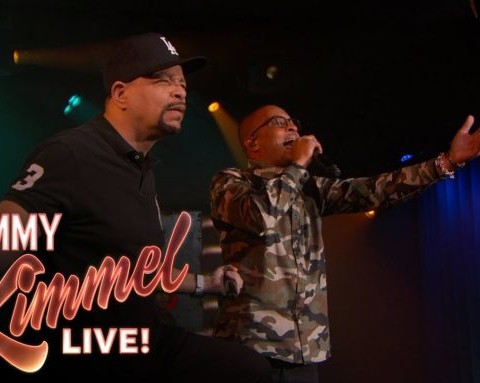 Watch Ice T & T.I. Performs O G Original Gangster & Bring Em Up Mash Up on Jimmy Kimmel