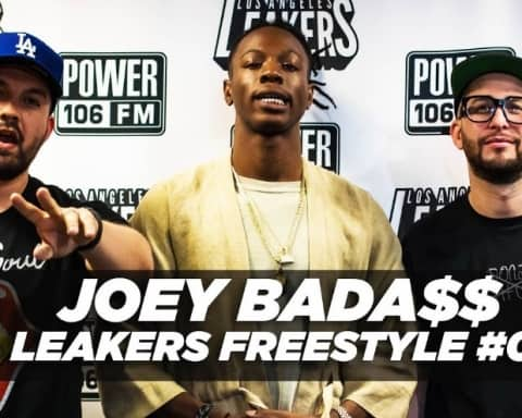 Watch Joey Badass Mask Off Freestyle on Power 106 L.A.