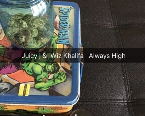 New Music Juicy J & Wiz Khalifa - Always High