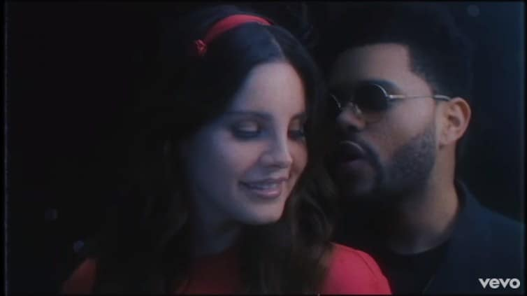 The weeknd lana del rey hookup