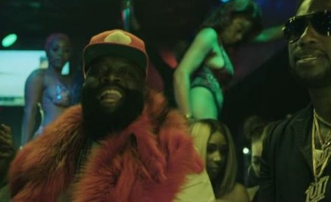 New Video Rick Ross (Ft. Gucci Mane) - She On My Dck