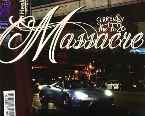 Stream to Currensy's New The Fo20 Massacre Mixtape