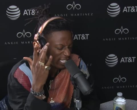Watch Joey Badass Freestyle on The Angie Martinez Show
