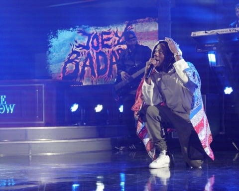 Watch Joey Badass Performs Land of The Free on Late Show With Stephen Colbert