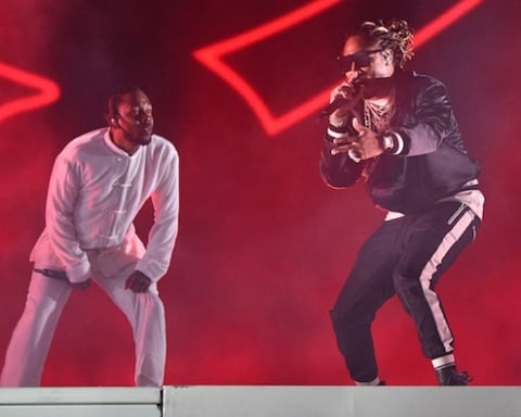 Watch Kendrick Lamar Bring Out Travis Scott, Future & ScHoolboy Q in Coachella 2017