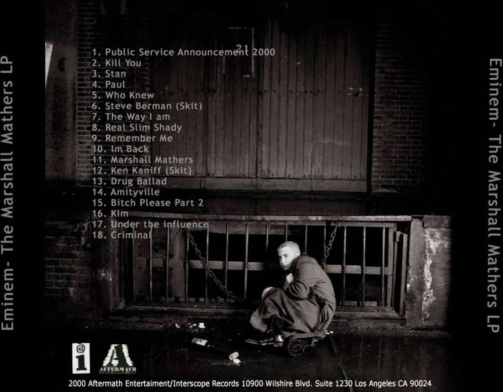 Today Marks 17th Anniversary of Eminem's The Marshall Mathers LP Album