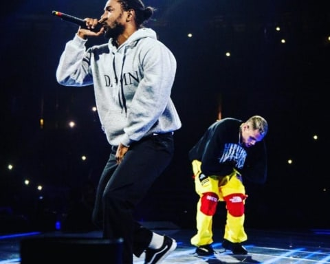 Watch Chris Brown Brings Out Kendrick Lamar at Party tour in Anaheim, California