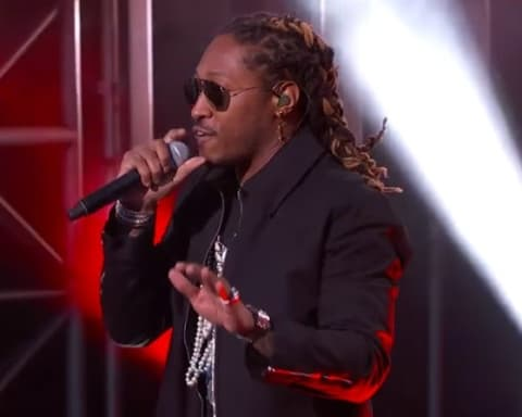Watch Future Performs Mask Off & Used to This on Jimmy Kimmel Live