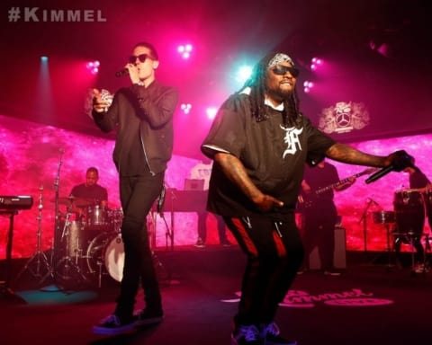 Watch Wale & G-Eazy Performs Fashion Week on Jimmy Kimmel Live