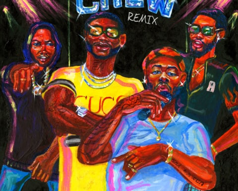 New Music GoldLink (Ft. Gucci Mane, Brent Faiyaz & Shy Glizzy) - Crew (Remix)