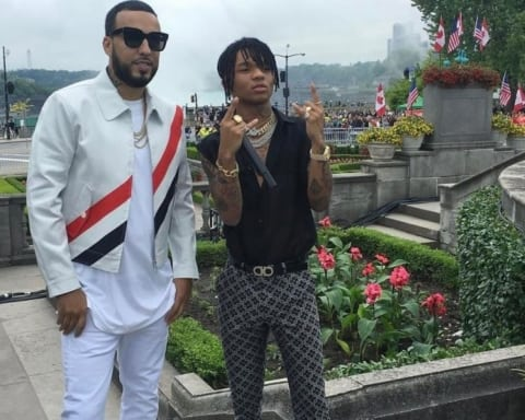 Watch French Montana & Swae Lee Performs 'Unforgettable' at Niagara Falls for 'Live with Kelly & Ryan' Show