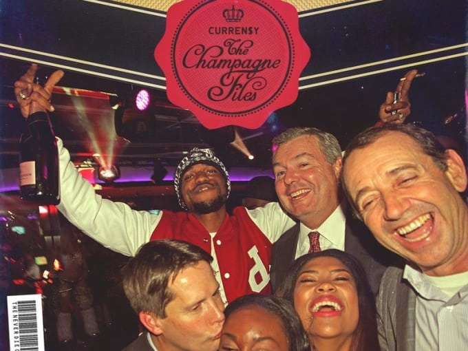 Stream Curren$y's New Mixtape The Champagne Files