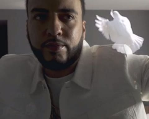 New Video French Montana - White Dress