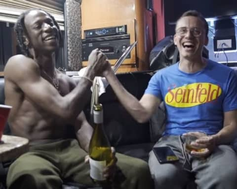 Watch Logic & Joey Badass' Freestyle Session