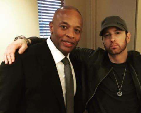 Eminem & Dr. Dre Reportedly Working on New Music for Bodied Soundtrack