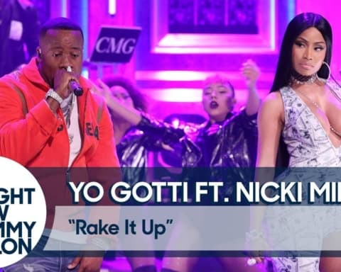 Watch Yo Gotti & Nicki Minaj - Rake It Up (Live on The Tonight Show)