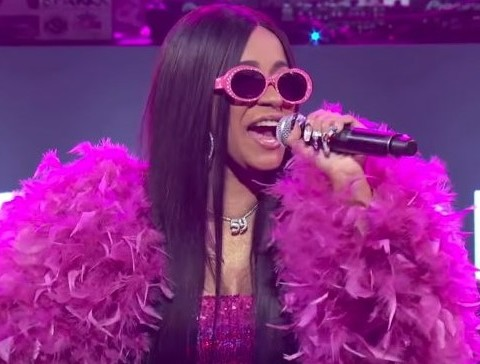 Cardi B Performs Bodak Yellow On Jimmy Kimmel Live Show
