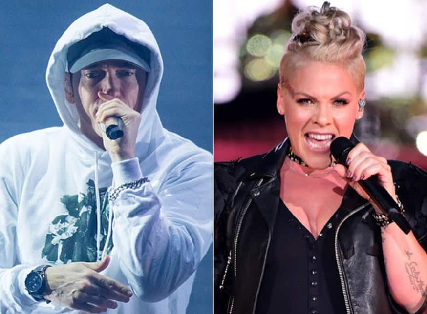 Watch P!nk talks about Eminem & their upcoming collaboration 'Revenge'