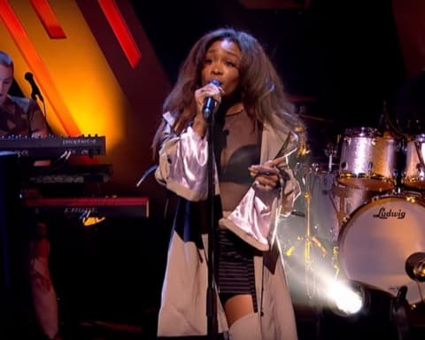 Watch SZA Perform 'Normal Girl' on Later... with Jools Holland