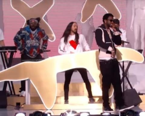 Watch Steve Aoki, Yellow Claw, Gucci Mane & T-Pain Perform Lit on Jimmy Kimmel Live