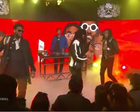 Watch Gucci Mane & Migos - I Get The Bag (Live on Jimmy Kimmel Live!)
