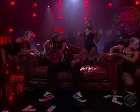 Watch Ty Dolla Sign - Dawsin's Breek (Live on James Corden)