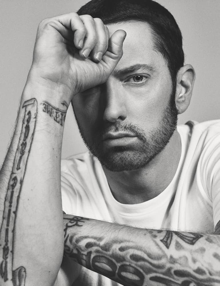 Eminem Covers Interview Magazine; New Interview with Elton John