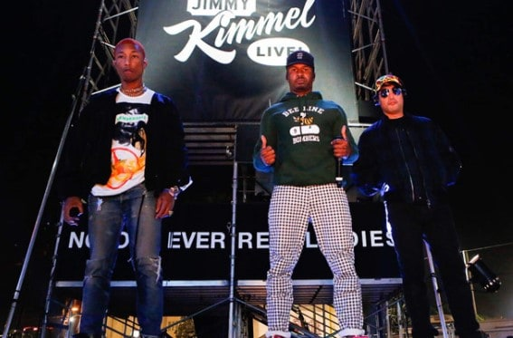 N.E.R.D. Performs On Jimmy Kimmel Live