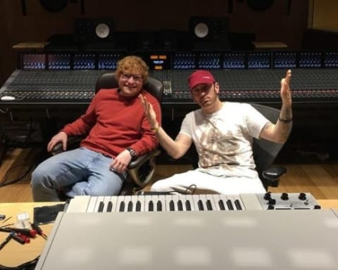 Stream Eminem's New Single River Featuring Ed Sheeran