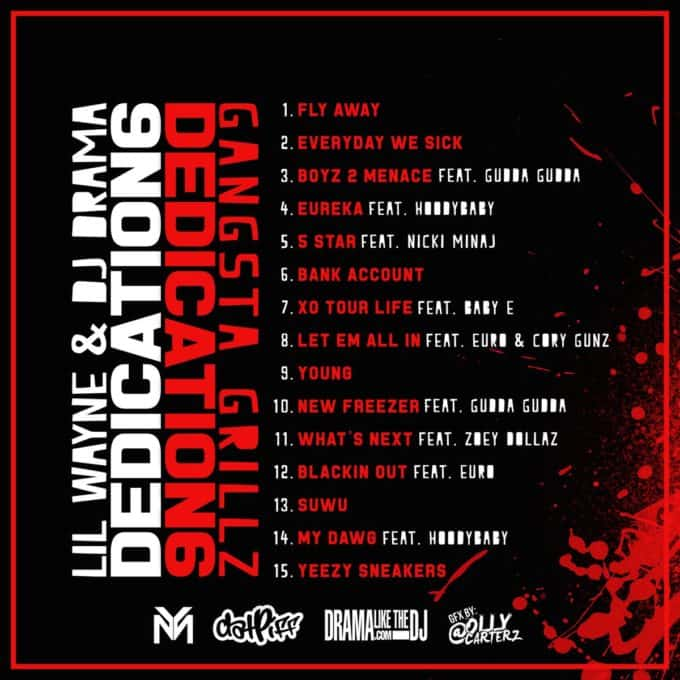 Stream Lil Wayne & DJ Drama's New Mixtape Dedication 6