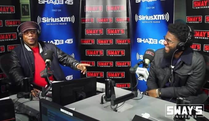 Watch Big K.R.I.T. Freestyles on Sway In The Morning