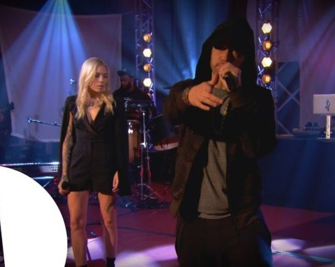 Watch Eminem Exclusive Performance on BBC Radio 1