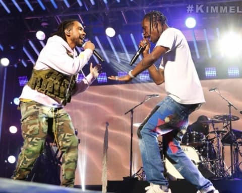 Watch Miguel & Travis Scott Performs Sky Walker on Jimmy Kimmel Live