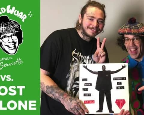 Watch Nardwuar vs. Post Malone