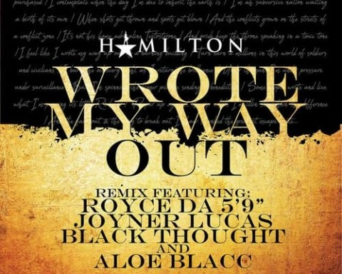New Music Royce Da 5'9, Joyner Lucas & Black Thought (Ft. Aloe Blacc) - Wrote My Way Out (Remix)