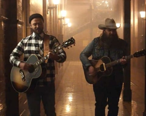 New Video Justin Timberlake (Ft. Chris Stapleton) - Say Something