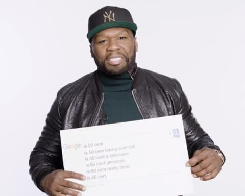 Watch 50 Cent Answers Web's Most Searched Questions About Him