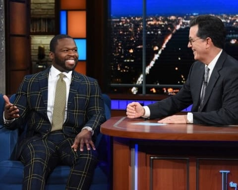 Watch 50 Cent Interview Session With Stephen Colbert