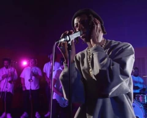 Watch Joey Badass Remixes Prince's When Doves Cry for Australian Radio Station