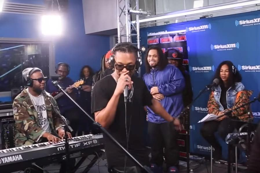 Watch Lupe Fiasco Freestyle on Sway In The Morning Jam Session