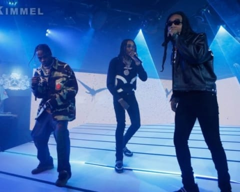 Watch Travis Scott, Quavo & Takeoff Perform Eye 2 Eye on Jimmy Kimmel Live