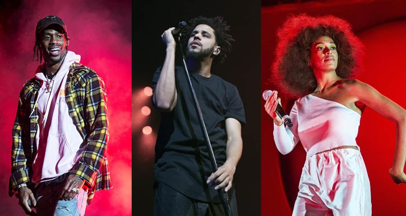J. Cole, Travis Scott & Solange To Headline Ireland's Longitude Festival