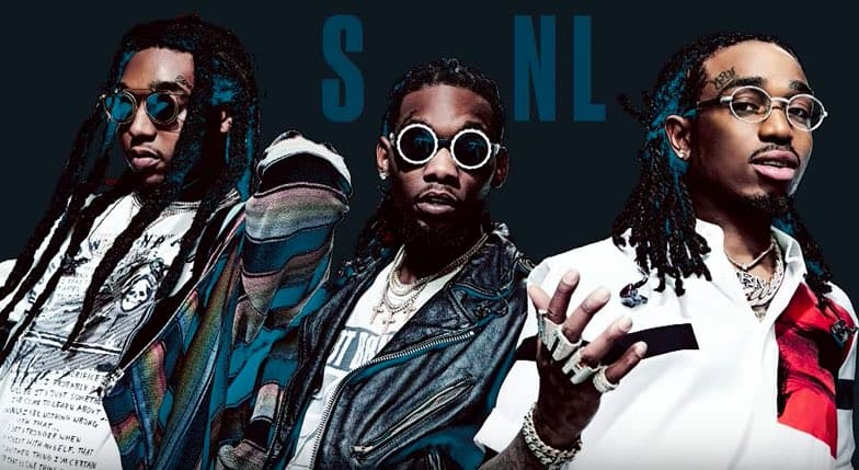 Migos Performs Stir Fry & Narcos On Saturday Night Live (SNL)