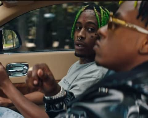 New Video Rich The Kid - Dead Friends (Feat. A Lil Uzi Vert Look-Alike)