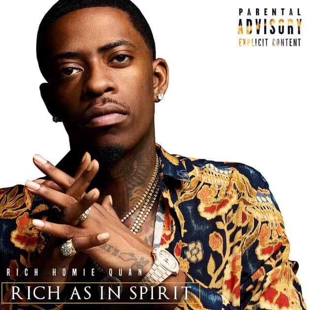 Rich Homie Quan New Album Rich As In Spirit Cover & Tracklist, Drops New Single